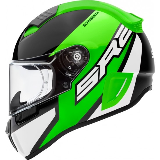 Schuberth SR2 Wildcard Green Full Face Helmet