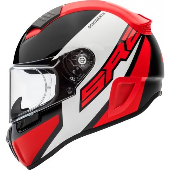 Schuberth SR2 Wildcard Red Full Face Helmet