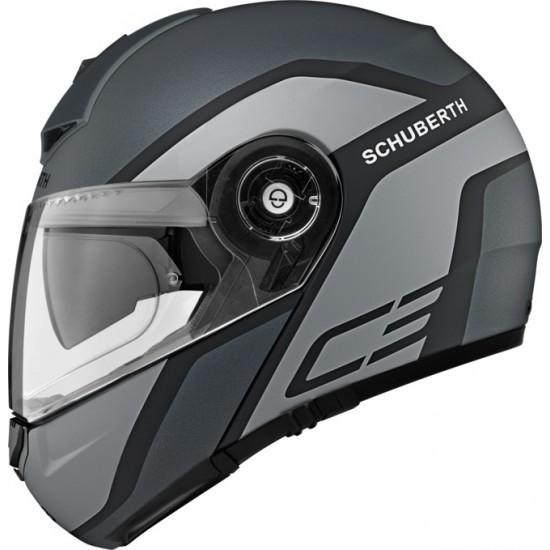 Schuberth C3 Pro Observer Grey Modular Helmet