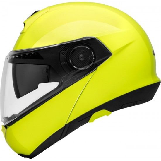 Schuberth C4 Fluo Yellow Modular Helmet