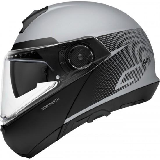 Schuberth C4 Resonance Grey Modular Helmet