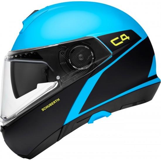 Schuberth C4 Spark Blue Modular Helmet
