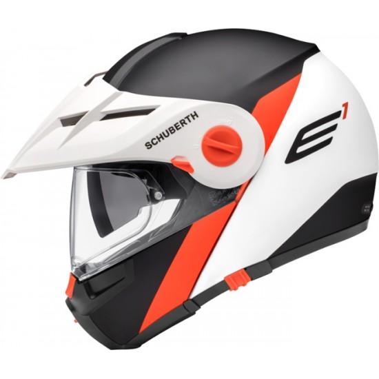 Schuberth E1 Gravity Orange Modular Helmet