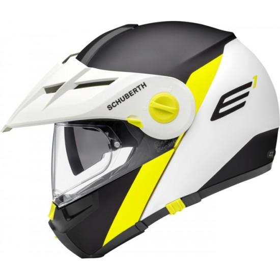 Schuberth E1 Gravity Yellow Modular Helmet