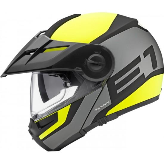Schuberth E1 Guardian Yellow Modular Helmet