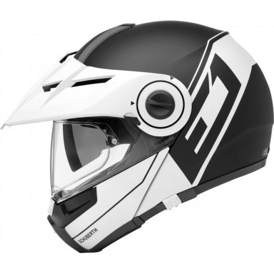 Schuberth E1 Radiant White Modular Helmet