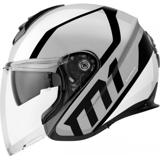 Schuberth M1 Flux Silver Open Face Helmet