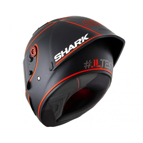 Shark Race-R Pro GP Replica Lorenzo Winter Test 2019 Black Red Full Face Helmet