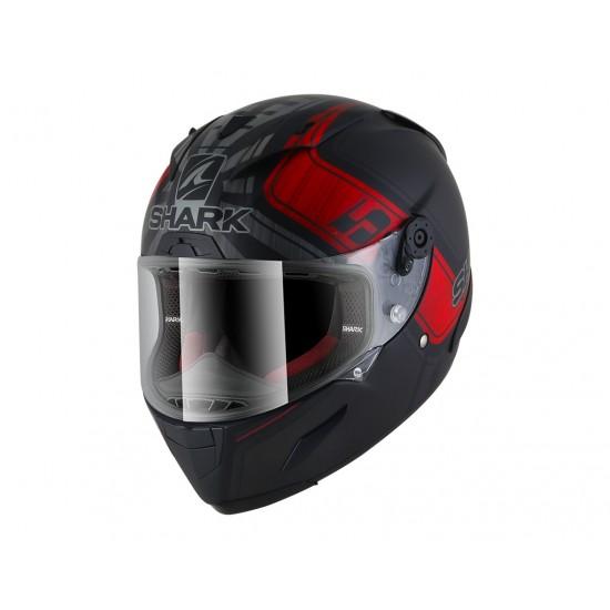 Shark Race-R Pro Replica Zarco GP France Mat Black Anthracite Red Full Face Helmet