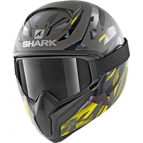 Shark Vancore 2 Kanhji Anthracite Yellow Black Full Face Helmet