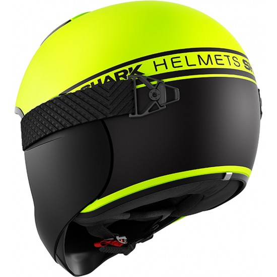 Shark Vancore 2 Street Neon Yellow Black Full Face Helmet