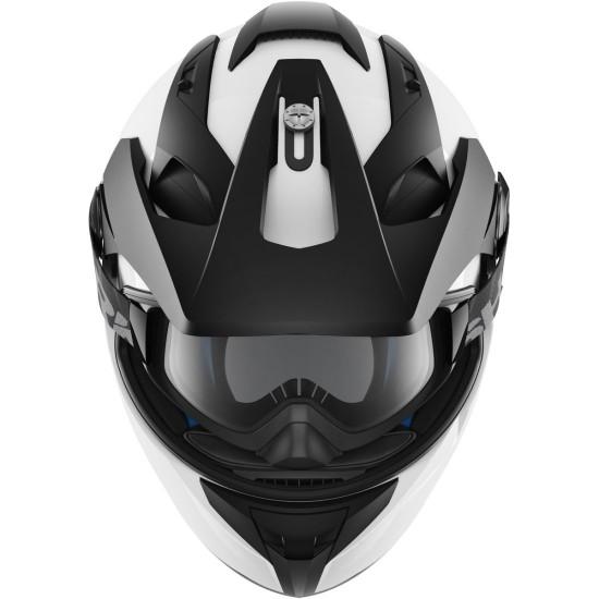 Shark Explore-R Blank White Azur Off Road Helmet