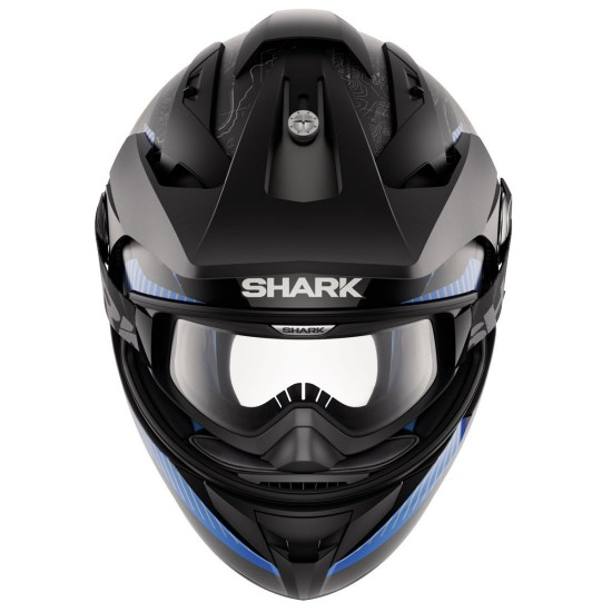 Shark Explore-R Peka Mat Black Blue Anthracit Off Road Helmet