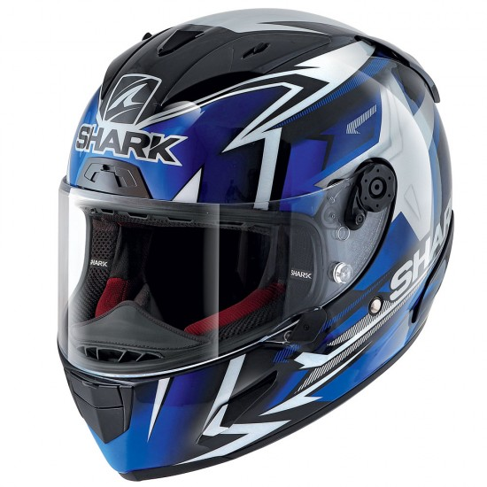 Shark Race-R Pro Replica Oliveira 2019 Black blue white Full Face Helmet