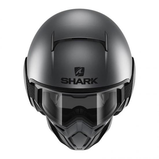 Shark Street Drak Street Neon Anthracite Black Open Face Helmet