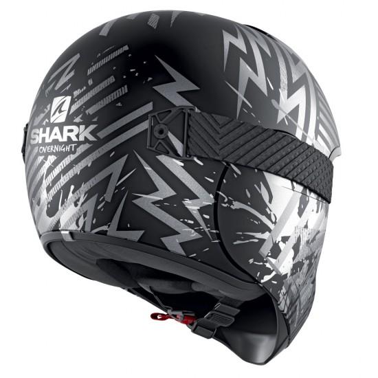Shark Vancore 2 Overnight Black Anthrac Silver Full Face Helmet
