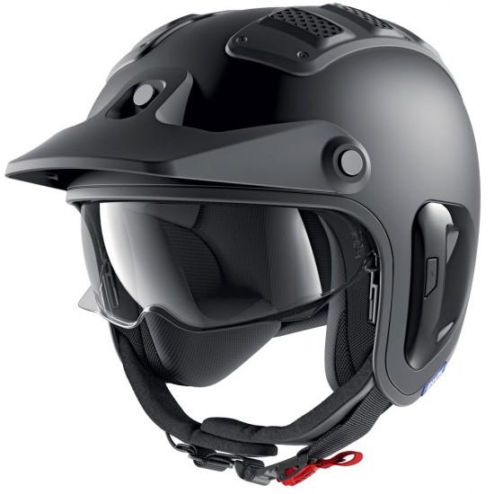 Shark X-DRAK 2 Blank Mat Black Mat Open Face Helmet