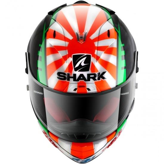 Shark Race-R Pro Replica Zarco 2017 Black Red Green Full Face Helmet