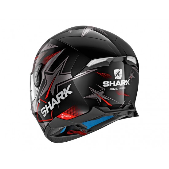 Shark Skwal 2 Draghal Black Anthracite Red Full Face Helmet