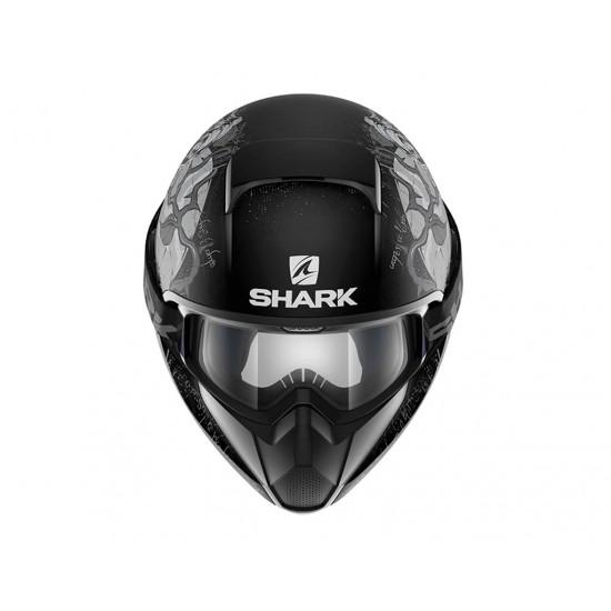 Shark Vancore Ashtan Mat Black Silver Antrha Full Face Helmet