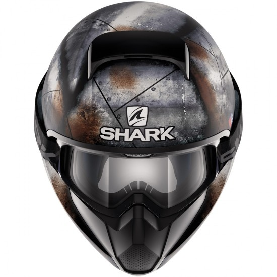 Shark Vancore Flare Black Anthracite Orange Full Face Helmet