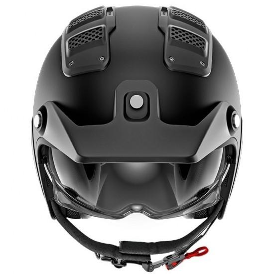 Shark X-Drak Blank Mat Black Open Face Helmet