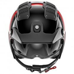 Shark X-Drak Terrence Black White Red Open Face Helmet