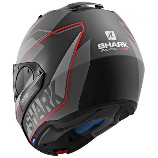Shark Evo One 2 Krono Mat Black Anthracite Red Modular Helmet