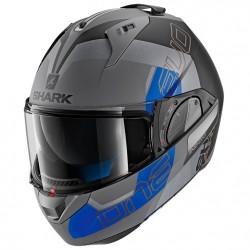 Shark Evo One 2 Slasher Mat Anthracite Black Blue Modular Helmet