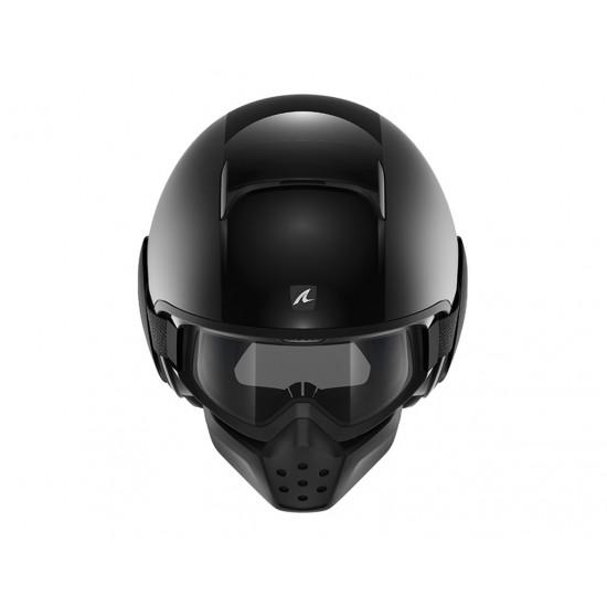 Shark Drak Dual Black Open Face Helmet