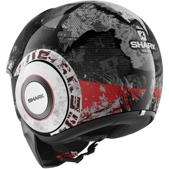 Shark Drak Evok Black Red Anthracite Open Face Helmet