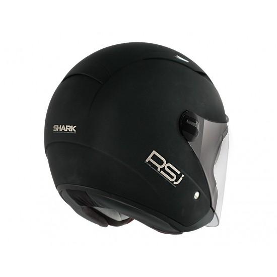 Shark RSJ Uni Black Mat Open Face Helmet