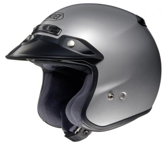 Shoei RJ Platinum-R Light Silver Open Face Helmet