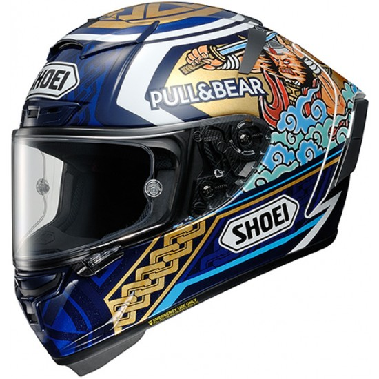 Shoei X-Spirit 3 Marquez Motegi3 TC-2 Full Face Helmet