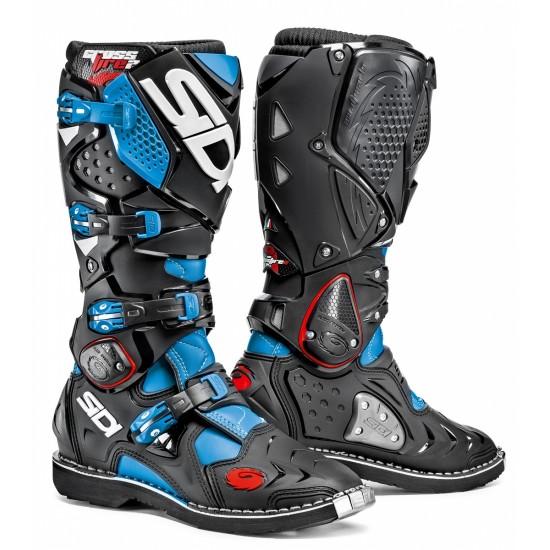 SIDI Crossfire 2 Offroad Boots - Light Blue Black
