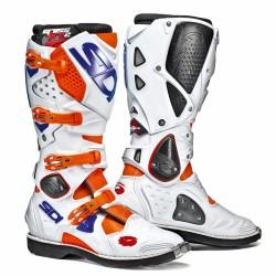 SIDI Crossfire 2 Offroad Boots - Orange White Blue