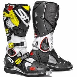 SIDI Crossfire 2 Offroad Boots - White Black Yellow