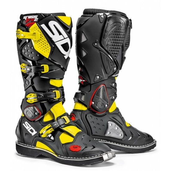 SIDI Crossfire 2 Offroad Boots - Yellow Black