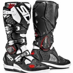 SIDI Crossfire 2 SRS Offroad Boots - Black White
