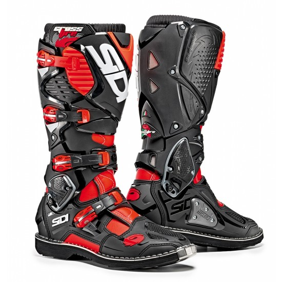 SIDI Crossfire 3 Offroad Boots - Red Black