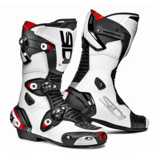 SIDI Mag-1 Racing Boots - white Black