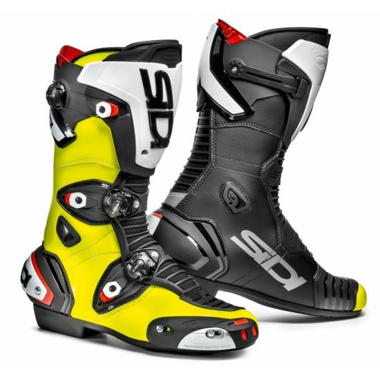 SIDI Mag-1 Racing Boots - Yellow Black