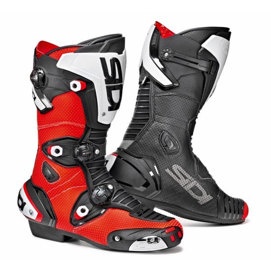 SIDI Mag-1 Air Racing Boots - Red Black