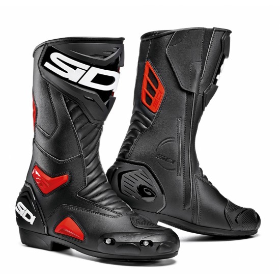 SIDI Performer Racing Boots - Black Red