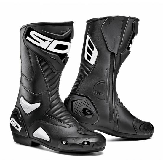 SIDI Performer Racing Boots - Black White