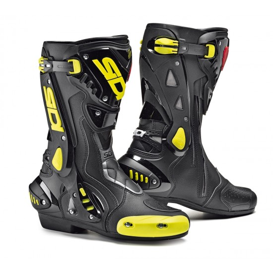 SIDI ST Racing Boots - Black Yellow