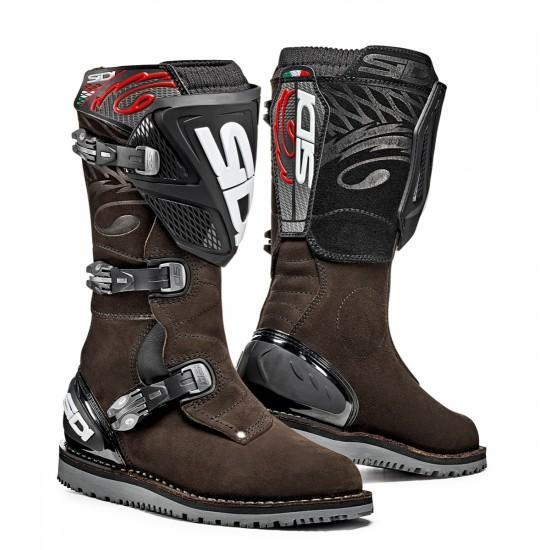 SIDI Trial Zero-1 Offroad Boots - Brown