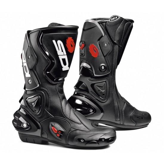 SIDI Vertigo Racing Boots - Black Black