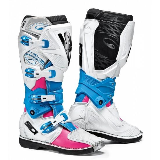 SIDI X-3 Lei Woman Boot - Pink White Light Blue