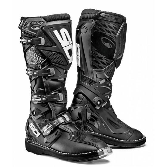 SIDI X-3 Offroad Boots - Black Black